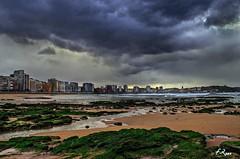 Gijn (Fran Roso) Tags: sea beach mar gijn asturias playa