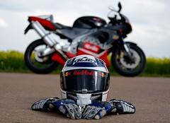 the helmet (DoubleE87) Tags: me fuji outdoor helmet motorbike f2 hjc 35 v2 wr helm rsv aprilia joyride motorrad mille xf spidi xt1 bicilindrico fahrspas fujixf35f2wr