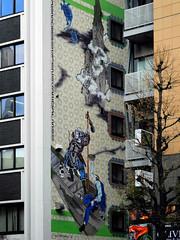 DSCN2159 (hiroshi.nakatani) Tags: street city building window tokyo nikon ebis p7000