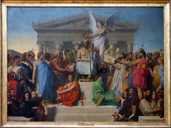Ingres, The Apotheosis of Homer, 1827