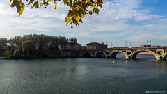 Pont Neuf over the Garonne river