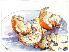 Study_Clementines -explored- (velt.mathieu) Tags: orange fruit sketch croquis