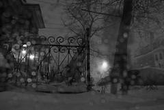 Snail Fence Philadelphia Snow Night (karenchristine552) Tags: street city winter urban usa cold philadelphia wet weather night landscape frozen nikon nightimages westphiladelphia pennsylvania snowstorm streetphotography streetlife places pa philly streetscenes westphilly urbanlandscape universitycity cedarpark pastmidnight darkenss frozenlandscape nocternal nikond80 urbanstreetscape nocternalphotographs ubansnowscape blizzardjanuary2016 blizzard2016 january2223242016 phlsnow phlsnow2016