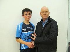 Boys U15 Final Presentation Caolan McCartan