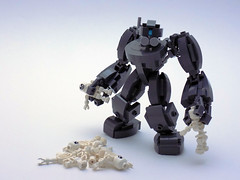 APE's Keepsakes (cmaddison) Tags: skeleton toy skull robot lego space scifi mecha bot mech drone droneuary