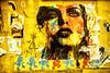 Paris Street Art Wall (Sébastien Turpin Photography) Tags: street blue boy red paris france streets color cute sexy art robert ass colors girl up look yellow wall kids jaune canon children french rouge nose eos kid cool rainbow frankreich sticker pin butte kunst tag femme badass kinder bleu gelb 7d bimbo cul mm graff drama rue mur nez arrondissement fille aux jm efs cailles parisian vie regard paris13 artiste pochoir kiddos 1755 parisienne sth xiii madchen schtroumpf française multicolore culte schtroumpfs efs1755
