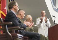 160114-D-PB383-014 (Chairman of the Joint Chiefs of Staff) Tags: promotion navy marines chairman navalacademy southerncommand cjcs jointstaff joedunford generaldunford josephfdunford 19thcjcs josephfdunfordjr admiraltidd kurtwtidd