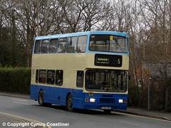 GHA Coaches L603 NOS (Cymru Coastliner) Tags: bus alexander roadcar wrexham northwales 14993 leylandolympian ruabon sheffieldomnibus ghacoaches l603nos stagecoachinlincolnshire valetravel