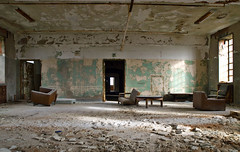 A Sitting Room (forgottenbeautyphotography) Tags: ny newyork abandoned architecture hospital ruins urbandecay kingspark asylum mentalhealth