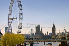 London Cityscape, The London Eye and The Houses of Parliament, London, England (andy evans photos) Tags: city uk england sky people sunlight london tower monument water horizontal millenniumwheel skyline architecture river photography pier day cityscape unitedkingdom capital bigben clocktower unescoworldheritagesite copyspace riverbank riverthames thamesriver clearsky goldenjubileebridge urbanskyline tranquilscene thelondoneye parliamentbuilding londonengland urbanscene traveldestinations cityofwestminster housesofparliamentlondon famousplace thehousesofparliament passengership buildingexterior internationallandmark colourimage builtstructure nauticalvessel thamesclipperboat bridgemanmadestructure picturecities englishculturebritishculture