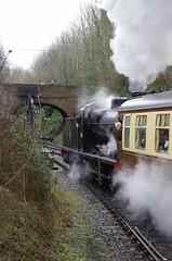 IMGP8410 (Steve Guess) Tags: uk england train engine railway loco hampshire steam gb locomotive bluebell alton 060 ropley alresford hants fourmarks medstead qclass 30541