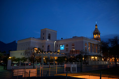 DSC_9633 (jesusenmexico) Tags: blue sky church mxico downtown historic monterrey