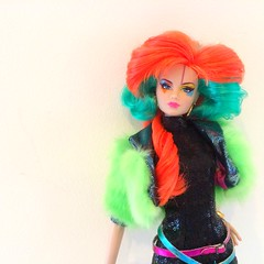 Clash!!- jem and the holograms  (trulytrulyoutrageous) Tags: doll clash montgomery jem royalty hasbro fahion integrity holograms jemboy