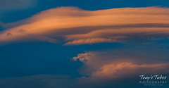 Gorgeous lenticular clouds north of Denver