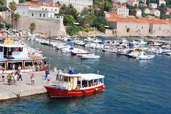 Dubrovnik. The City Harbour (vs1k. 1 000 000 visits, Thanks so much !) Tags: sea mediterranean croatia dubrovnik adriatic hrvatska dalmatia