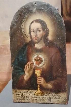 Alegoría del Corazón Eucarístico de Jesús, Museo de Arte Sacro, Lagos de Moreno, Jal.