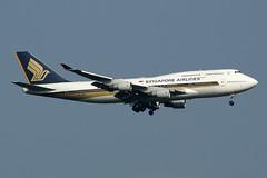 Singapore Airlines Boeing 747-412 9V-SPJ (Kambui) Tags: airplane airplanes aviones avions singaporeairlines flugzeuge  avies aeroplani kambui