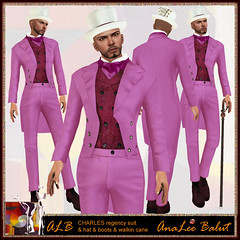 ALB CHARLES outfit - 5 sizes (AnaLee Balut) Tags: new male design costume outfit shoes boots victorian formal suit secondlife alb baroque regency virtualworld overknees slfashion sldesign secondlifeclothes sldesigner secondlifeshoes albdreamfashion annaleebalut analeebalut lamugroup secondlifeheels slcostume