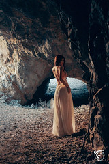 "Kaloopy _ Soaking up the Sun 12 (Kaloopy (-"") Tags: sunlight sexy dress topless batman cave seethrough shoulder bohemian kaloopy"