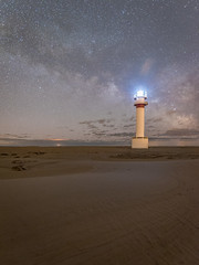 Milky Way at Punta del Fangar Dunes