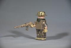 M14 EBR: Main (LoganLego) Tags: modern desert lego camo sniper modded m14 ebr modcom digitalcamo brickarms eclipsegrafx citizenbrick camolego