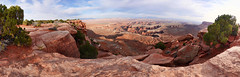 Island in the Sky Overlook Panorama (BongoInc) Tags: panorama utah canyonlands