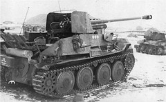 "Abandonned under Stalingrad German tank destroyer Marder III • <a style=""font-size:0.8em;"" href=""http://www.flickr.com/photos/81723459@N04/24849888165/"" target=""_blank"">View on Flickr</a>"