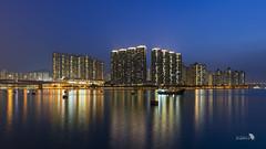 _DSC1141_169_LOGO (Ray 'Wolverine' Li) Tags: city sunset sea sun nature hongkong pier asia nightscene nightview