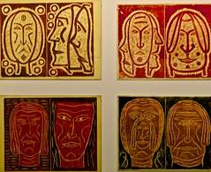 "Untitled (from the series""Faces, Visions, Things seen) (1975) - Hein Semke (1899-1995) (pedrosimoes7) Tags: portugal visions faces lisboa cam cc creativecommons thingsseen centrodeartemoderna caloustegulbenkianfoundation artgalleryandmuseums anavasconcelos heinsemke ecoledesbeauxarts facesvisionsthingsseen agermaninlisbon temporaryexposition teresabalt umalemoemlisboa"