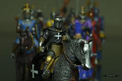 Caballeros Hospitalarios/Knights Hospitaller (JCarlos.) Tags: medieval knights medievaltimes historia crusade plomo cruzados hospitaller figuritas cruzadas edadmedia hospitalario
