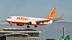 JeJu Air (Dubspotter2015) Tags: ireland sky dublin irish orange beautiful canon airplane outdoors photography flying airport skies colours outdoor aircraft aviation air jets jet cockpit korea images landing vehicles international korean commercial engines airline seoul vehicle boeing ryanair airlines jeju jetblast dub pilot airliner copilot jetliner planespotting boeing737 jetwash turbofan b738 avnerd avgeek aviationphotography rwy28 eidw wingflex jejuair b737ng runway28 canon7d airlinerworld eidyt canonaviation dubspotter