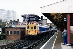 930 006 (Sparegang) Tags: woking emu britishrail networksoutheast 4380 southernregion class405 4sub 930006 slamdooremu southernregionemu