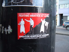 fighting injustice at work (ztephen) Tags: london idea no eustonroad nope