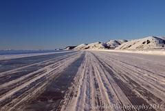 ABC_7300s (savillent) Tags: road travel sky sun snow ice river landscape march frozen nikon arctic mackenzie climate inuvik 2016 tuktoyaktuk savillent