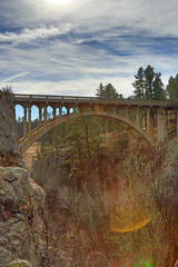 Beaver Creek Bridge (Notkalvin) Tags: bridge wild beautiful architecture southdakota blackhills creek nationalpark outdoor scenic beaver pines granite beavercreek pinetrees intothesun windcave beavercreekbridge peternorbeck mikekline notkalvin notkalvinphotograhy norbeckbridge
