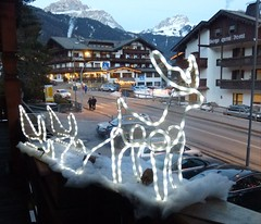 Rudolf! (snowman*1) Tags: italy ita campitellodifassa trentinoaltoadige