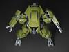 M251 Ridgway 3 (mondayn00dle) Tags: green robot tank lego military olive walker mecha bot mech