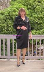 Suit 53e (Melissa451) Tags: highheels isabella satinsuit