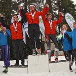 Cypress Teck U14 SL - Day 2, Race 2 men's podium PHOTO CREDIT: Hans Forssander