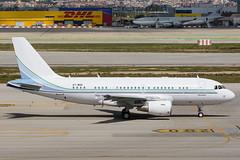 Qatar Amiri Flight Airbus A319CJ A7-MHH (j.borras) Tags: barcelona airplane ramp taxi bcn flight cj airbus operations amiri runway tow spotting qaf qatar departing a319 rwy25l lebl a7mhh