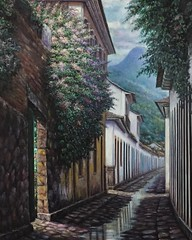 """Paraty is a preserved Portuguese colonial (15001822) and Brazilian Imperial (18221889) municipality with a population of about 36,000. It is located on the Costa Verde (Green Coast), a lush, green corridor that runs along the coastline of the state of R (""""guerrilla"""" strategy) Tags: travel light brazil costa verde green art rio brasil paraty architecture night painting that de coast is br rj janeiro with state colonial corridor it imperial brazilian coastline about runs preserved lush population 36 portuguese 000 along 