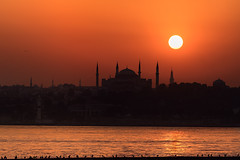 Istanbul // Turkey - A beautiful city, a magnificent country. (Christian Clowes) Tags: street sunset red orange beauty silhouette yellow turkey nikon prayer rich streetphotography istanbul mosque thoughts d750 strength ankara prayers beatiful resolve