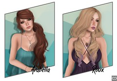 Truth - Arabella And Roux (Cryssie Carver) Tags: life yummy truth avatar an sl blueberry secondlife second lar collaborative ikon poses tlc the liaison maitreya mynerva gaeg theliaisoncollaborative anlarposes zibiska
