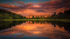 Lake Matheson -20160410-0962-Edit-Edit-20160410-7360 x 4140 (James Yu Photography) Tags: lakematheson reflction jamesphotography jameszhenyu