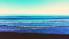 #mare #sea #principina #onde #blu #blue #sfumature #love #sky #lovesea (valentina.cellai) Tags: blue sea sky love mare blu onde lovesea sfumature principina