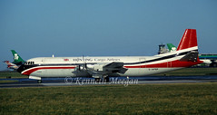 G-APEP (Ken Meegan) Tags: dublin hunting cargo 719 merchantman gapep vickersvanguard huntingcargoairlines 28111992 vickersvanguard953cmerchantman