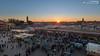 Sunset above Djemaa el Fna (dieLeuchtturms) Tags: morocco maroc marrakech medina afrika marrakesh marokko jemaaelfna 16x9 marrakesch djemaaelfna djemaaelfnaa marrakechtensiftalhaouz platzdergehängten