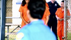 h50503_01746 (UJB88) Tags: county orange women uniform prison jail facility jumpsuit correctional restrained