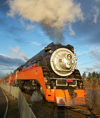 Southern Pacific 4449 (thomasrivettephotography) Tags: daylight steam locomotive sp4449