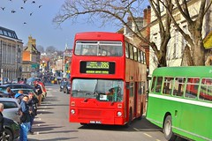 Preserved ex-London Transport M1069 B69WUL - Winchester Broadway (South West Transport News) Tags: transport broadway preserved winchester metrobus mcw exlondon m1069 b69wul